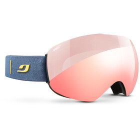 Julbo Skydome, darkblue-yellow/zebra light red/red